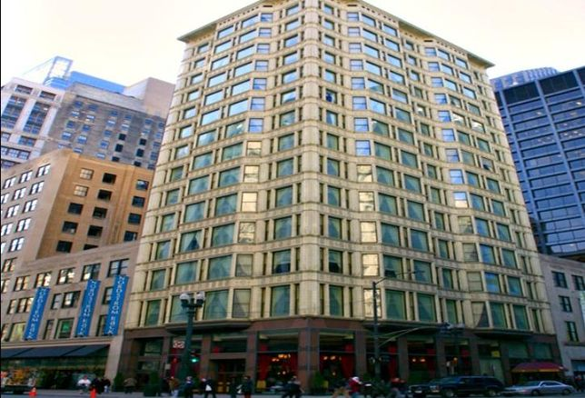 The Hotel Burnham at the Reliance Building, 1 West Washington Street, Chicago