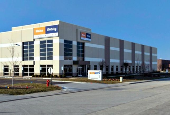 An industrial property owned by CenerPoint in suburban Chicago