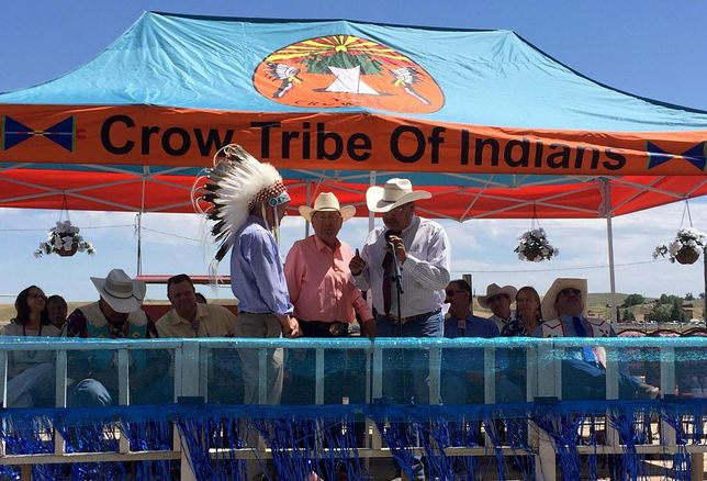 Akin Gump Joins Crow Tribe To Celebrate Landmark Water Settlement