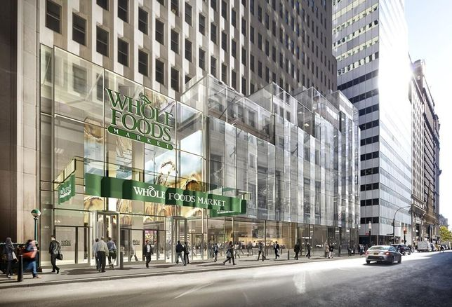 FiDi Finally Gets a Whole Foods At One Wall Street