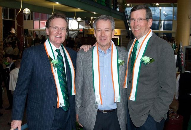 Ryan Cos CEO Pat Ryan, uncle Tim and former CEO Jim Ryan