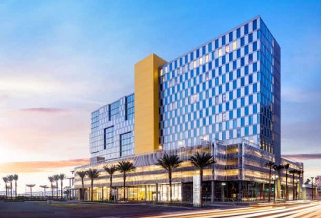 Marriott's new dual-branded SpringHill Suites and Residence Inn San Diego/Bayfront in Downtown SD.