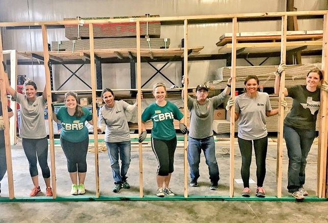 CBRE at Habitat for Humanity