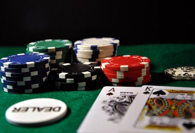poker chips, gamble