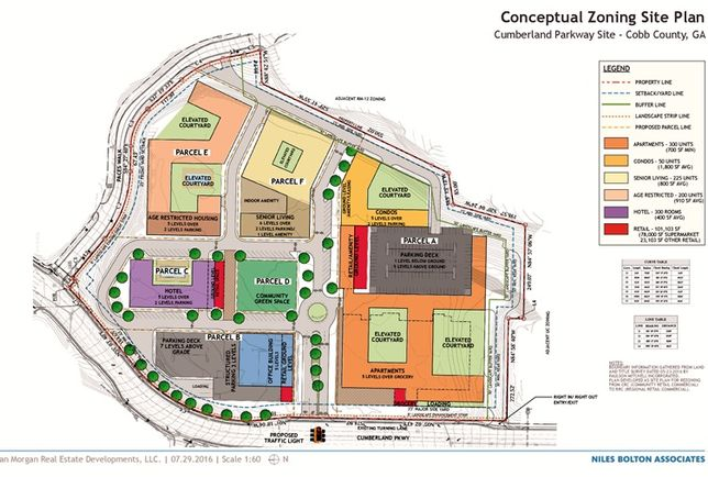 Vinings Atlanta site plan