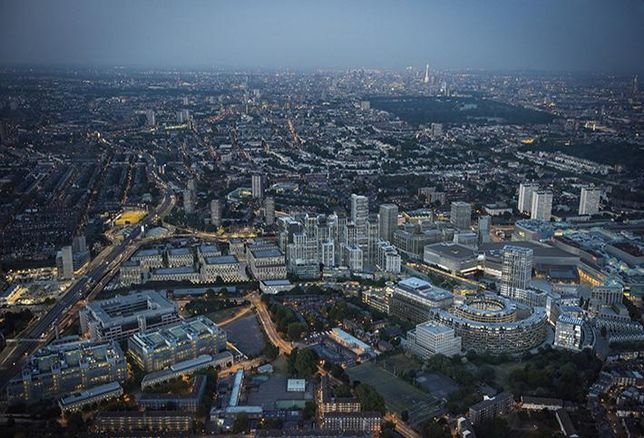 White City from above