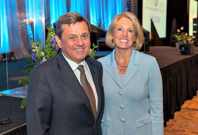 Choose DuPage CEO John Carpenter with Illinois Comptroller Leslie Geissler Munger