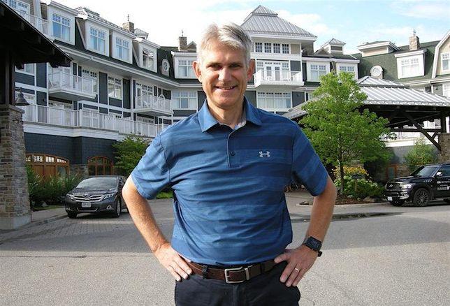 Developer Michael Sneyd at the JW Marriott The Rosseau