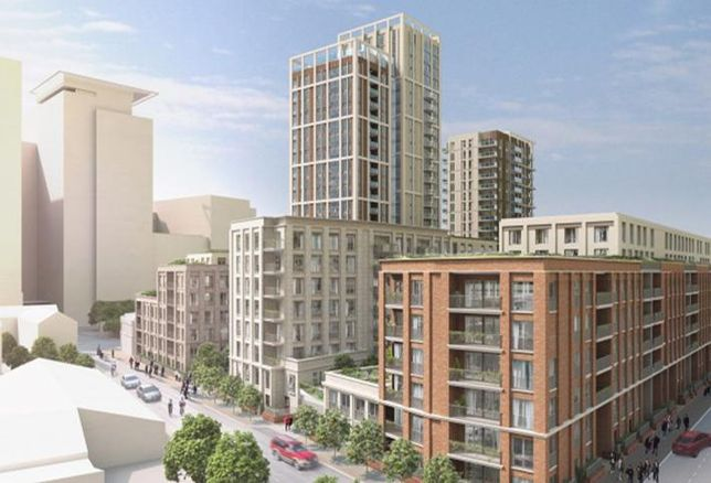 Stockwool's CGI of its Whitechapel development