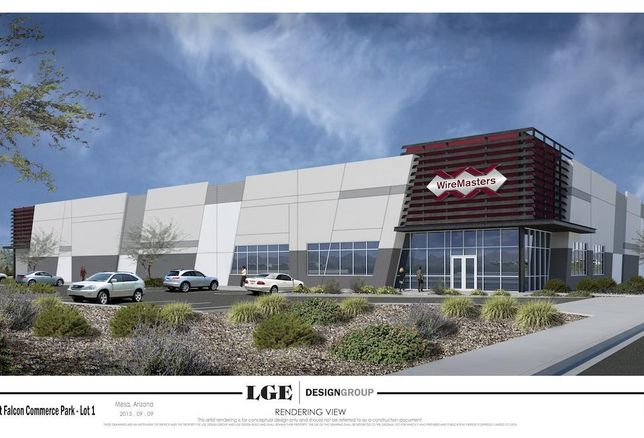New WireMasters Distribution Center Going Up In Mesa