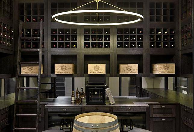 Chelsea townhouse wine cellar