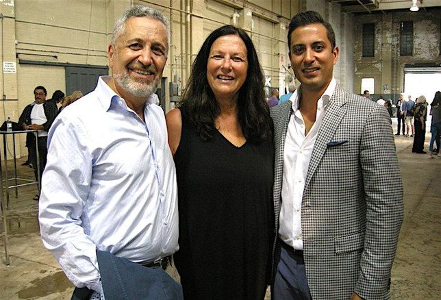 Waterworks development team: MOD CEO Gary Switzrer, Woodcliffe CEO Eve Lewis, MOD president Noorez Lalani.