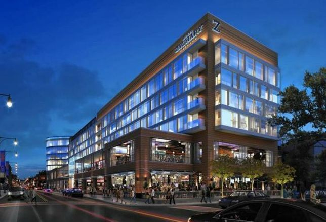 A rendering of Hickory Street Capital's Hotel Zachary in Chicago.
