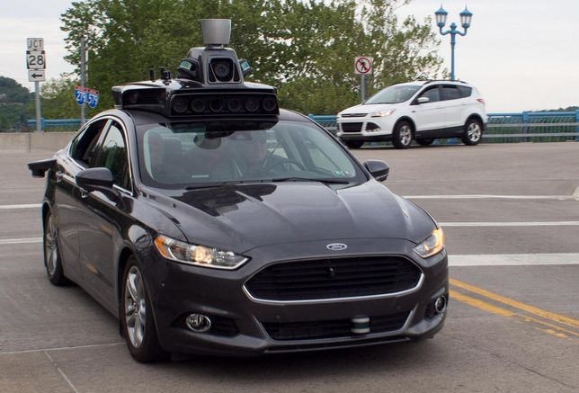 Uber self driving car