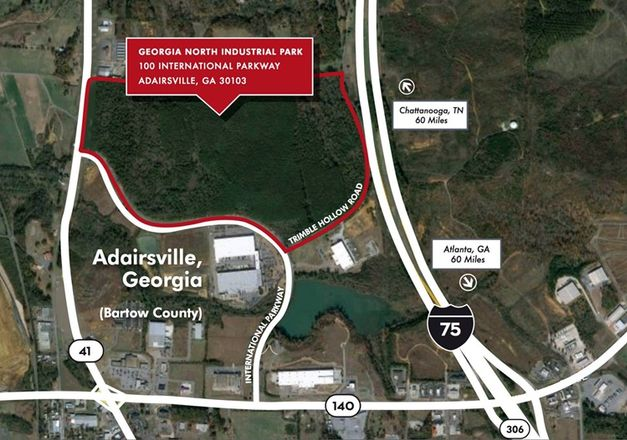 WPM Commercial Adairsville industrial tract