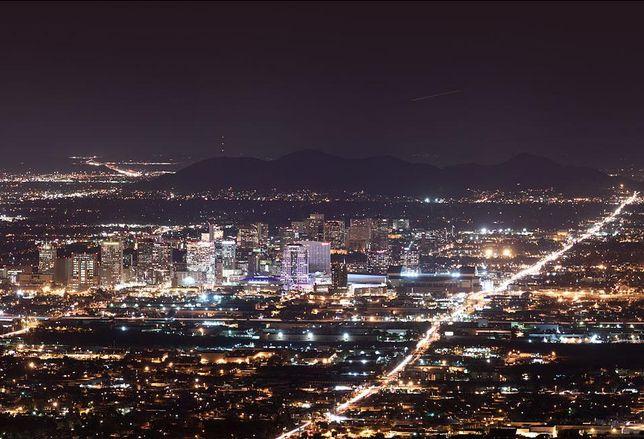 Downtown Phoenix Skyline at night