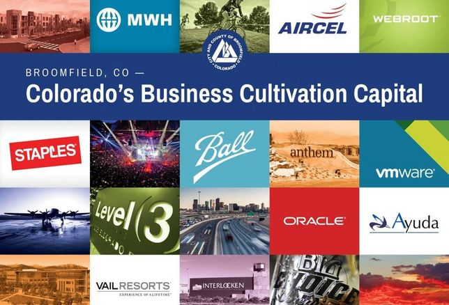 Colorado's Business Cultivation Capital for Broomfield, CO 36 Creative Corridor