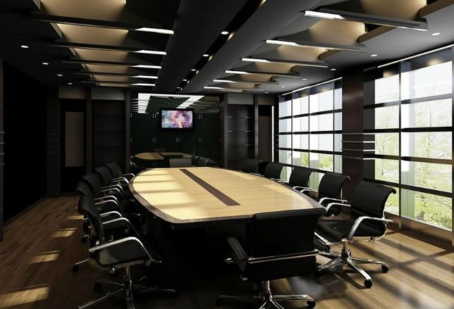 Office market, offices, conference room
