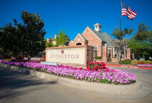 Livingston Apartments, a 180-unit complex on 11.8 acres in Plano, TX.