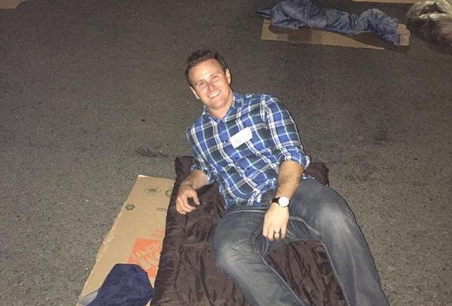 Gregg Applefield, Sleep Out, Covenant House