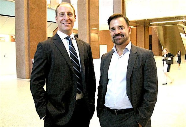 Dream Office REIT's Kevin Hardy and WZMH Architects' John White