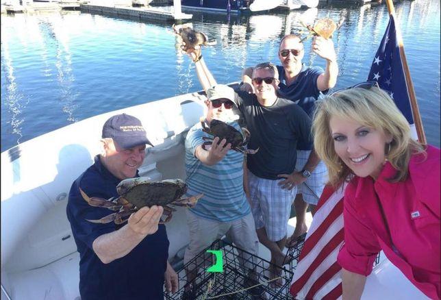 Lynn Owen Crabbing in Pacific Northwest