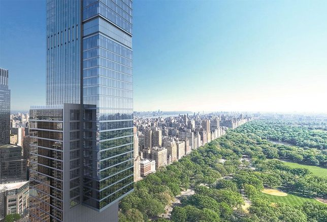 Central Park Tower by Extell Development