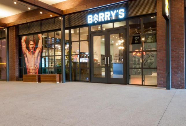 Barry's Eastown LA Hollywood