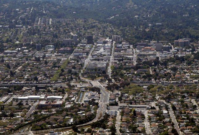 San Mateo Downtown Skyline