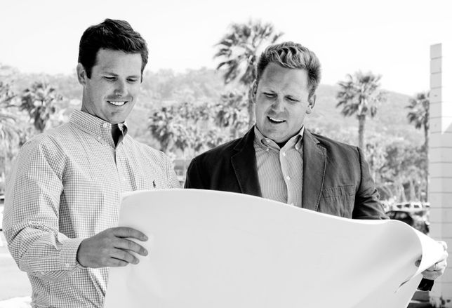 Russ and Scott Murfey are partners and brothers in Veritas Urban Properties