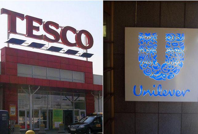 Tesco, Unilever