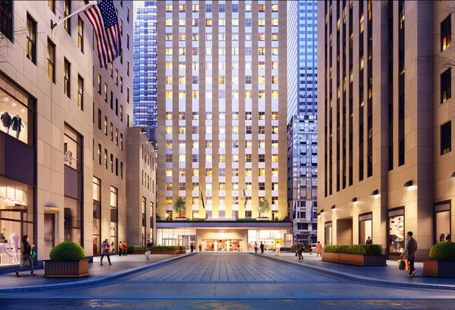 RXR Is Turning 75 Rockefeller Plaza Into A Unicorn Playground