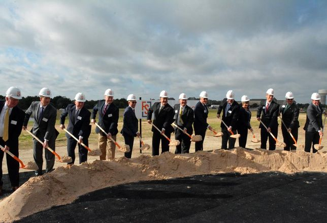 What used to be a hay field about an hour north of downtown Dallas is now well on its way to becoming the largest development in Frisco's $5B Mile. Frisco Station, the 242-acre master planned development on Warren Parkway, broke ground this morning.