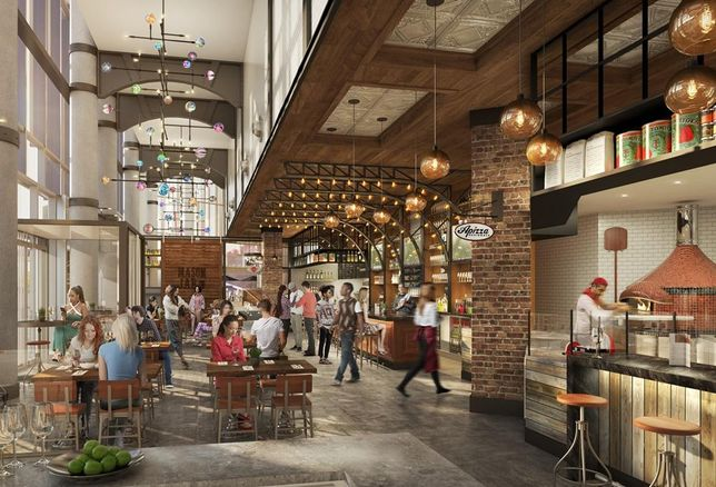 What Does It Take To Bring A Food Hall To Brooklyn?