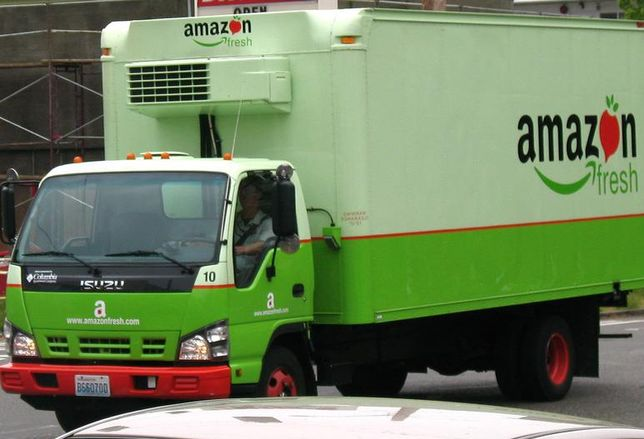 AmazonFresh grocery delivery