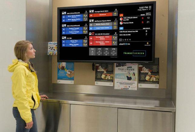 TransitScreen George Washington University