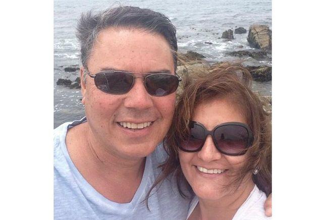 Alex Vasquez and wife, Veronica