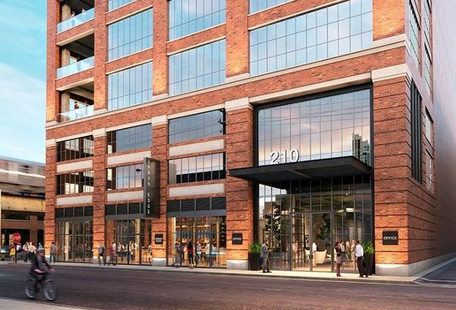 Sterling Bay wants to build a 13-story office building at 210 North Carpenter in Chicago