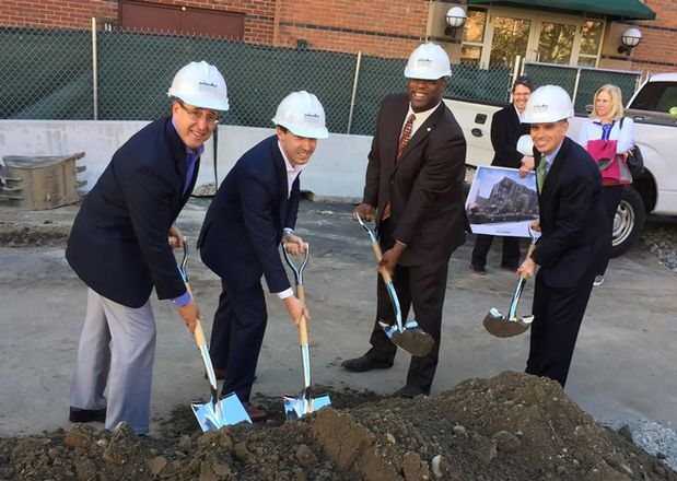 Douglass Park's Last Parcel Is Under Construction