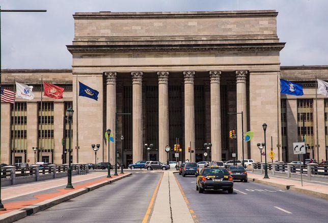 Amtrak's 30th Street Station in Philadelphia