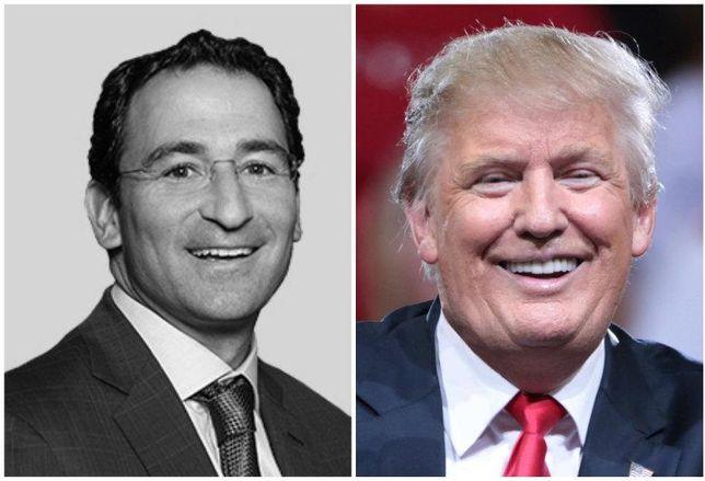 Jonathan Gray, Donald Trump