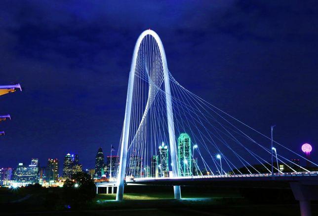 Margaret Hunt Hill Bridge Dallas