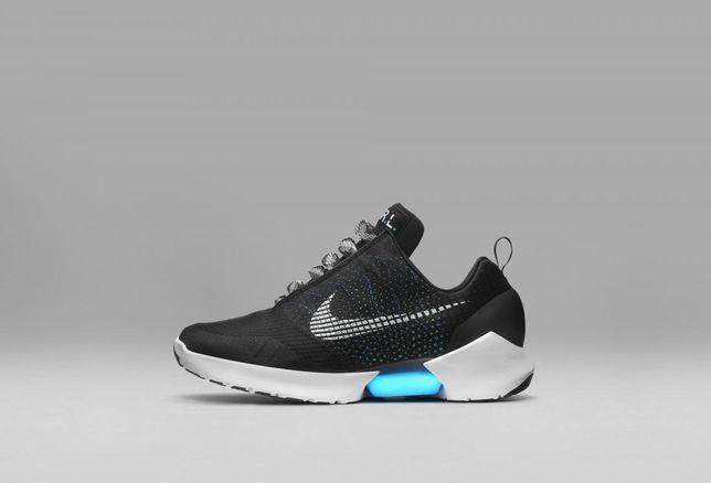 Nike self-tying shoe