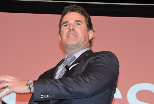 Under Armour CEO Kevin Plank at ICSC in New York City, Dec. 5, 2016.