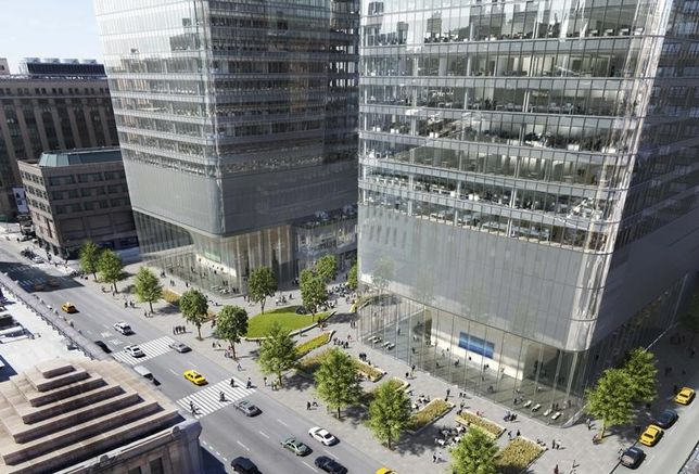 EY Expands Upcoming Lease At One Manhattan West