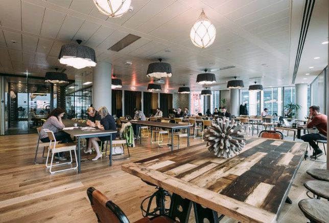 WeWork offices, wework, co-working space, open offices