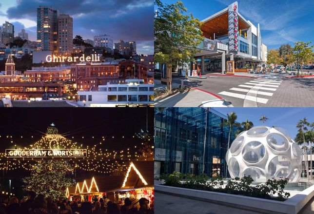 Retail and Placemaking CBRE collage