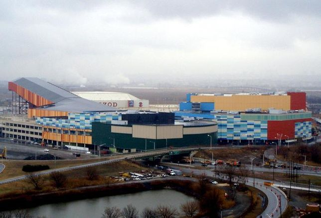 Xanadu—Now American Dream—retail and entertainment complex in the Meadowlands, NJ