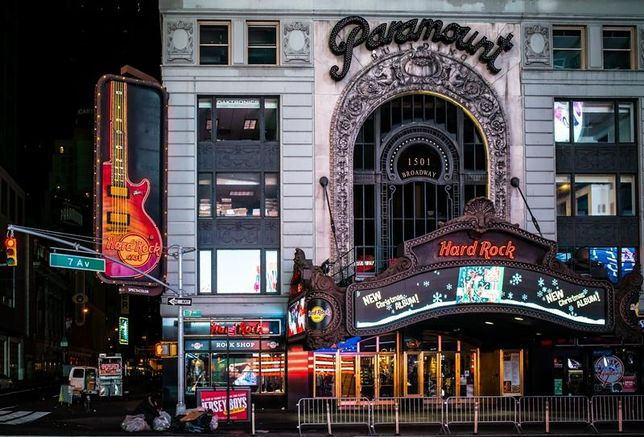 Extell Accuses Theater District Building Owner Of Stalling Hard Rock Hotel Development
