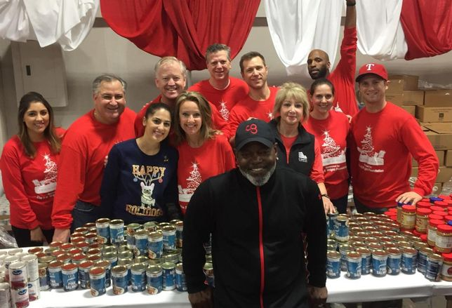 Emmitt Smith's E Smith Realty helped Dallas-area families at Christmas in the Park at Fair Park last week. Christmas in the Park alleviates hunger and provides educational, social services and economic resources for local families. The E Smith team helped sort and give coats, clothes, food, a toy or bike to benefit up to 40,000 local children.